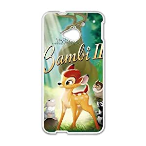 HTC One M7 Cell Phone Case White Bambi II AG6119979