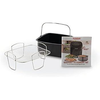 Amazon Com Nuwave Brio Gourmet Accessory Kit 6 Qt And 10