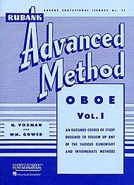 Hal Leonard Rubank Advanced Method for Oboe Volume 1 ()