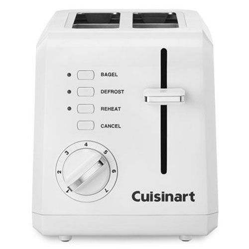 Cuisinart CPT-122 2-Slice Compact Plastic Toaster (White) (2slice Toaster compare prices)