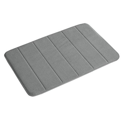 Memory Foam Bath Mat Non Slip Absorbent Super Cozy Velvet Bathroom Rug Carpet (17