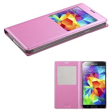 Asmyna MYBAT Samsung Galaxy S5 MyJacket con teléfono Carcasa ...