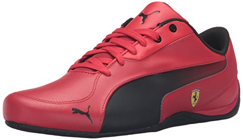 PUMA Men's Drift Cat 5 Sf Fashion Sneaker, Rosso Corsa Black, 11 M (Puma Mens Ferrari)