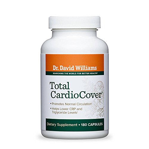 Dr. David Williams' Total CardioCover Cardiovascular Health Supplement, 180 Capsules (90-Day Supply) - Nattokinase 90 Capsules