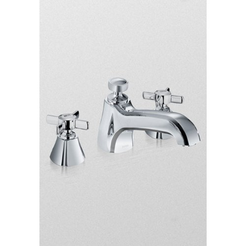 Toto TB970DD#RB Guinevere Deck-Mount Tub Filler Trim, Oil Rubbed - Guinevere Faucet Tub