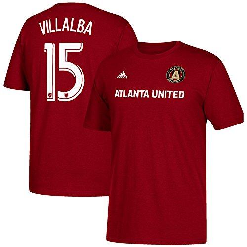 (adidas Atlanta United FC Hector Villalba 15 Name and Number T-Shirt-Large)