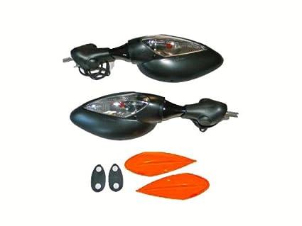 Amazon.com: Ducati Supersport Classic Turn Signal Mirrors ...