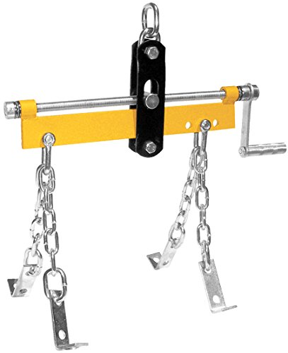 Performance Tool W41036 3/4 Ton (1,500 lbs.) Capacity 3 Position Engine Hoist Leveler with Handle