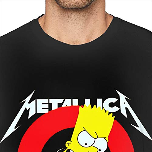 YouNood Metallica Mens Underwaist Tank Top Shirt Black