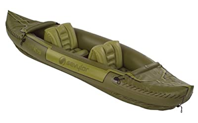 Sevylor Tahiti Fishing Hunting Inflatable Kayak