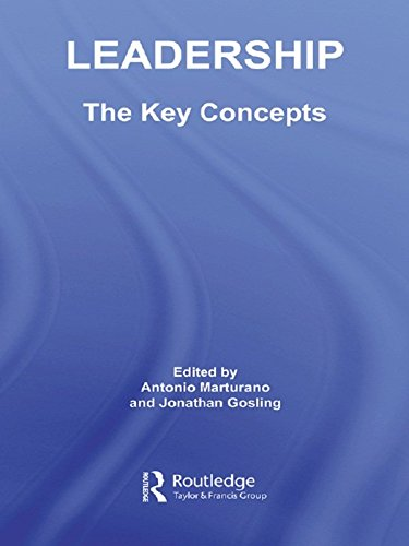 Leadership: The Key Concepts (Routledge Key Guides)