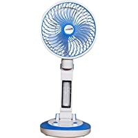 Citra Spacelite Sl-6610 New Model Powerful Rechargeable Table Fan With 21 Smd Led Lights, Assorted