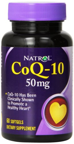 Natrol CoQ 10 50mg Softgels 60 Count