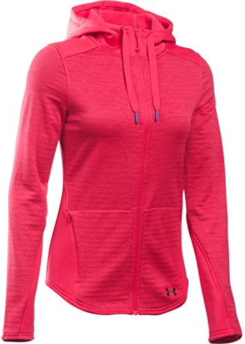 Under Armour Women's UA Gamut Full Zip Hoodie Knock Out/Stealth Gray Sweatshirt MD (US 8-10)