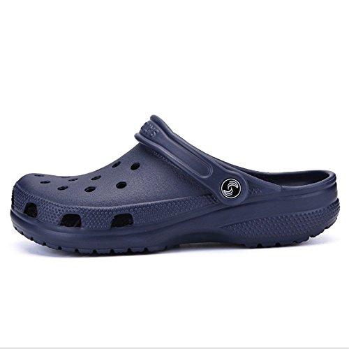 0 Traspirante Sandali pantofole CM Blu Tempo Uomo EU Uomo Libero 42 Per 28 Da da Spiaggia Il 23 Scarpe Hollow Dimensione spiaggia 0 Baotou Wagsiyi Colore Da Blu Da 5aIwdIq