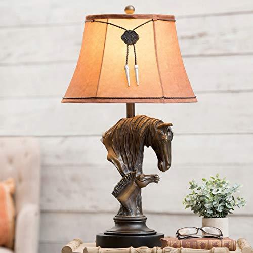 BLACK FOREST DECOR Horse & Colt Table Lamp