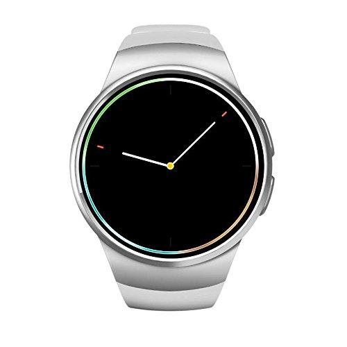 Amazon.com: KW18 Bluetooth Smart Watch Heart Rate Monitor ...