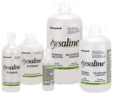 Fend-all 32 Ounce Bottle Eyesaline Sperian Personal Sterile Eye Wash Solution - 1 EA
