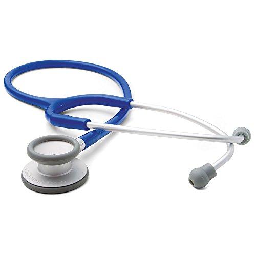 (ADC Adscope Lite 609 Ultra Lightweight Clinician Stethoscope, 31 inch Length, Royal Blue)