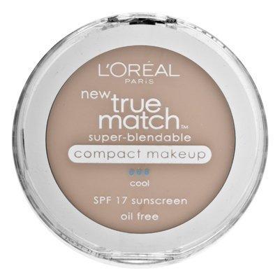 L'Oréal Paris True Match Super-Blendable Maquillage Compact, SPF 17, Classic Beige, 0,30 once
