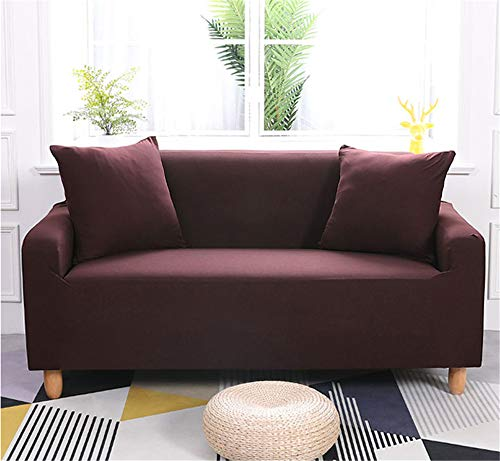 Stretch Sofa Slipcover,Sofa Couch Covers Washable Settee Furniture Protector Elastic Slipcover for Chair Loveseat Sofa Loveseat 2 Seater Coffee