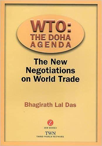 WTO: The Doha Agenda: The New Negotiations on World Trade ...