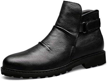 [スポンサー プロダクト][Dong] 歩きやすい トレッキングシューズ 登山靴 ワークブーツメンズ 滑り止め ベルクロ 防水 裏起毛 お兄系 V系 安定感 プレゼント ハイカット 紳士靴 おしゃれ 秋靴 冬靴 マーティンブーツショートブーツ