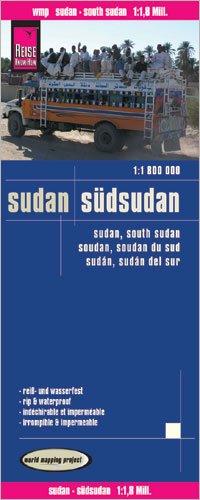 Sudan & South Sudan 1:1,800,000 Travel Map, waterproof, GPS-compatible REISE