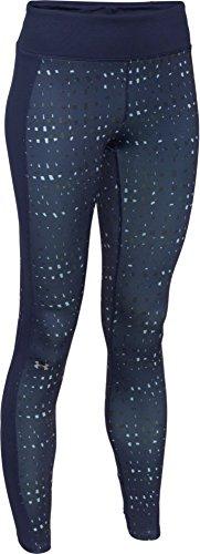 Under Armour pantalones de Fitness para y pantalones cortos ColdGear Printed Leggings Turquesa - Bkn/Vnr/Msv