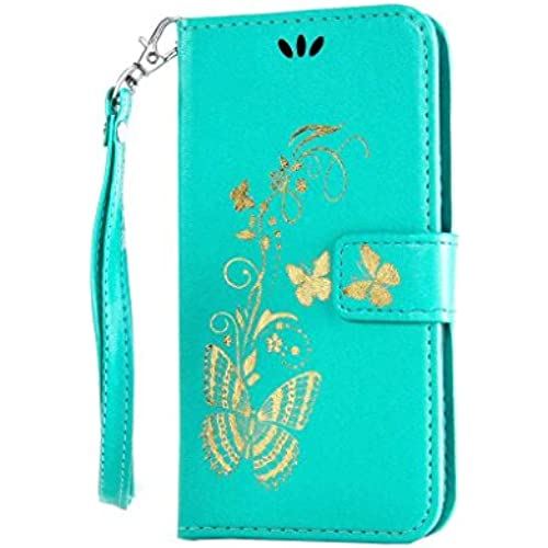 Galaxy S7 Case, UNEXTATI Premium PU Leather Wallet Case with Protective Cover for Samsung Galaxy S7 (#1 Butterfly) Sales
