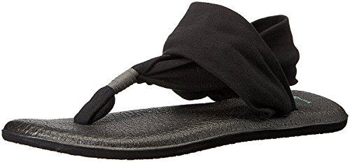 m Us 2 Women's 9 Yoga Sling Sanuk Black B STYOP