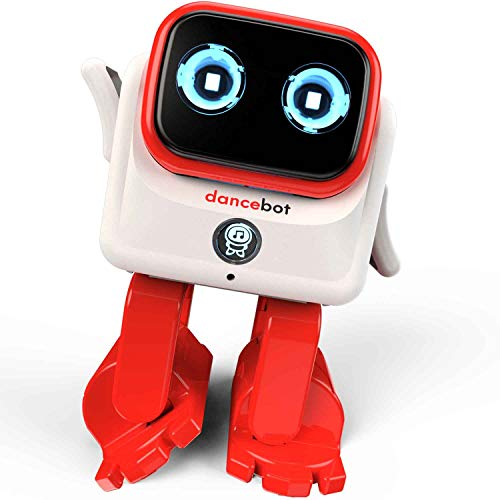 Echeers Kids Toys Dancing Robot for Boys and Girls, Educational Dancing Robot Toys for Kids with Stereo Bluetooth Speakers, Rechargeable Dance Robot Follow Music Beats Rhythm, All Age Children - Red by ECHEERS (Image #2)