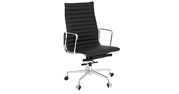 Amazon.com: Eames Estilo aluminio Mid Back Silla de oficina ...
