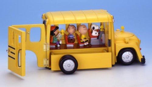 Snoopy Key Box: School Bus