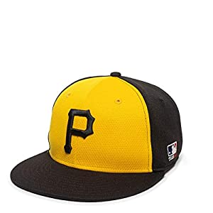 Pittsburgh Pirates Alternate 2-Tone MLB Mesh Replica Adjustable Baseball Cap Hat (Adult 7-7 1/2 Ages 12 and Up)