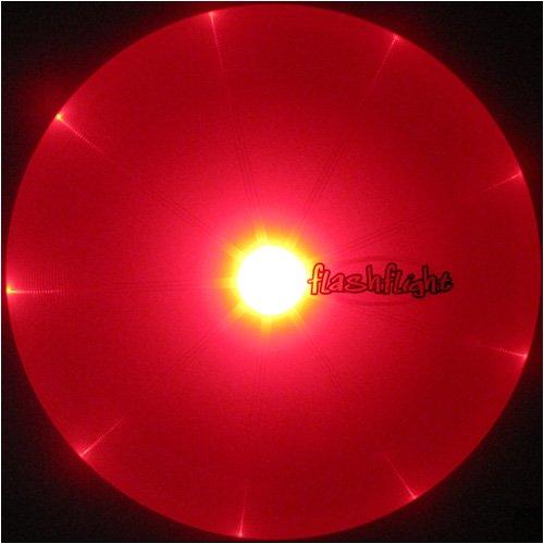 Nite Ize Flashflight LED Light Up Flying Disc, Glow in the D