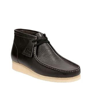 CLARKS Wallabee Boot Womens Style: 26125542-CharcoalLeather Size: 10.5 (B01MUAAC3M) | Amazon price tracker / tracking, Amazon price history charts, Amazon price watches, Amazon price drop alerts