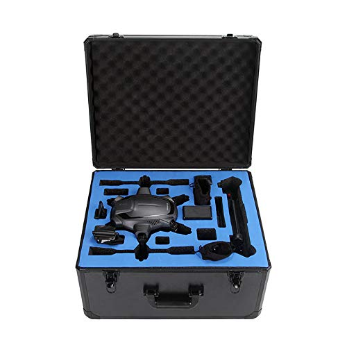 HUL Aluminium Carrying Case for Yuneec Typhoon H Drone with Foam Inserts ()