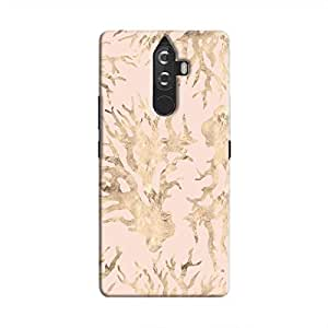 Cover It Up - Pink Pastel Nature Print Lenovo K8 Plus Hard Case