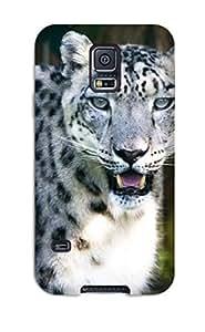 DkXlMaj820TFTKB Snow Leopard Awesome High Quality Galaxy S5 Case Skin