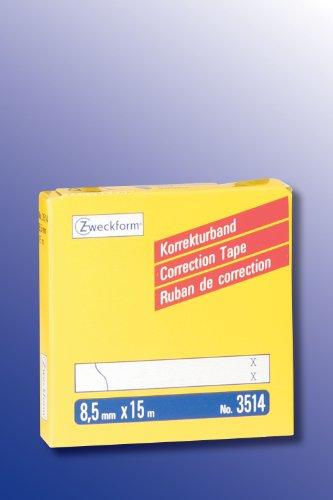 Zweckform Korrekturband/3514 8,5mm