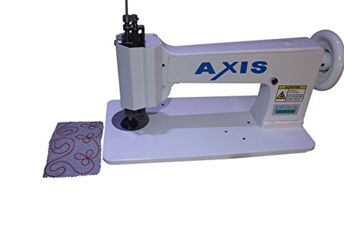 Axis Irish Chain Stitch Embroidery Sewing Machine – Handle Operated Single Needle- Same As Cornely Machine – Singer 114w103 Freestyle – Using The Freehand Crank – Embroidery Designs Hand Work