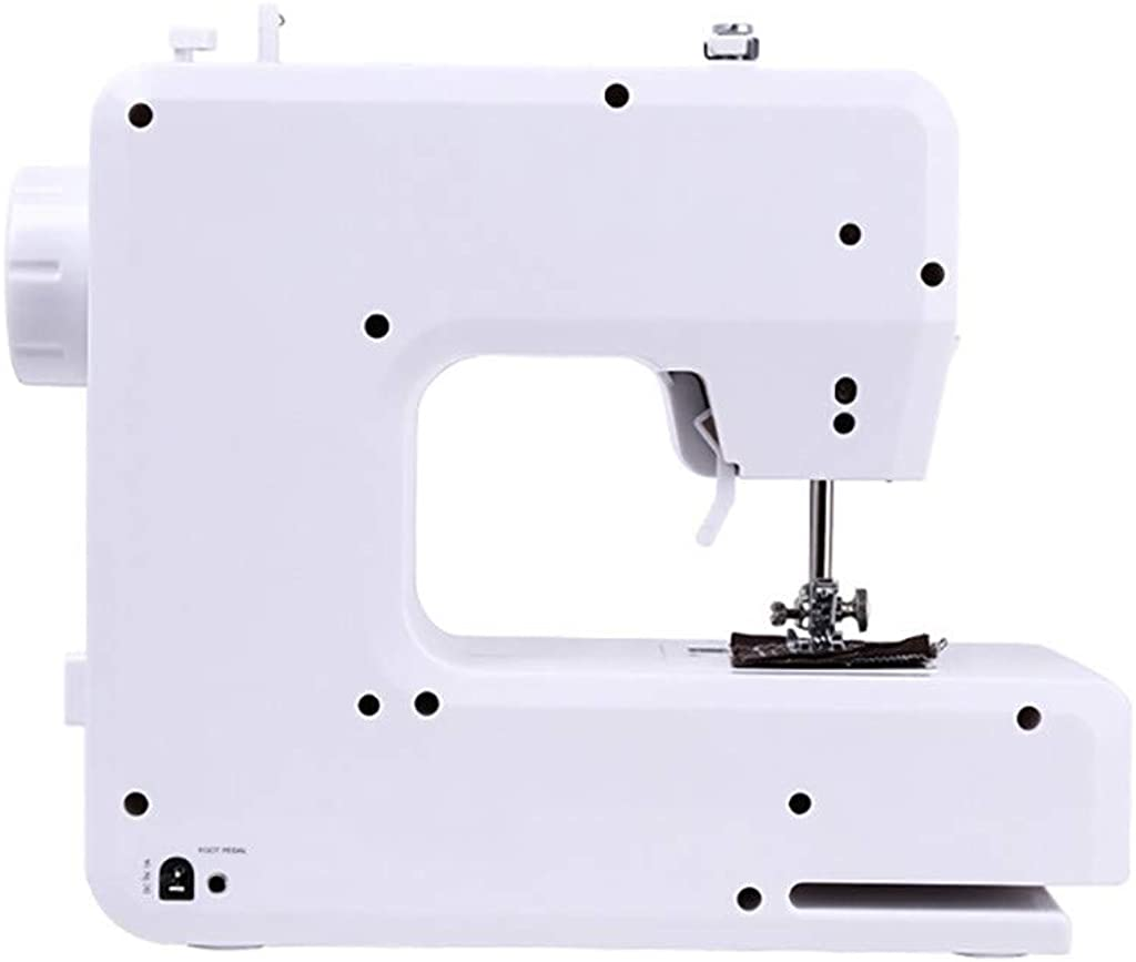 Lookvv Mini Sewing Machine with 12 Built-in Stitches for Beginner,Perfect for Sewing All Types of Fabrics with Ease