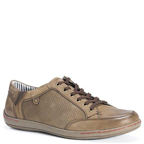 Muk Luks Hommes Brodi Chaussures Mode Sneaker Kaki