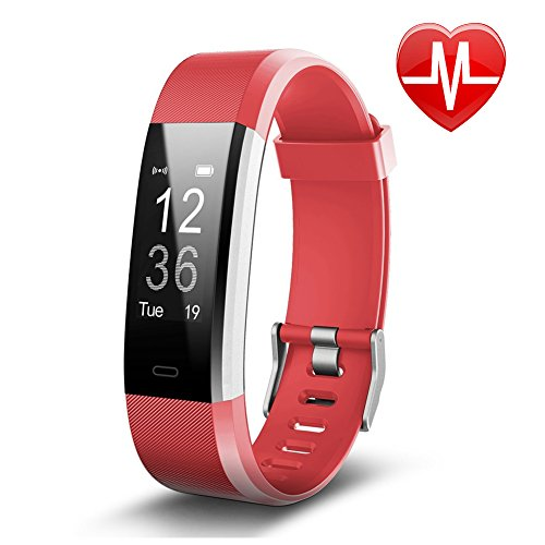 Letsfit Fitness Tracker  Activity Tracker With Heart Rate Monitor And Sleep Monitor  Step Counter Pedometer Watch  Ip67 Water Resistant Smart Band For Kids Women And Men