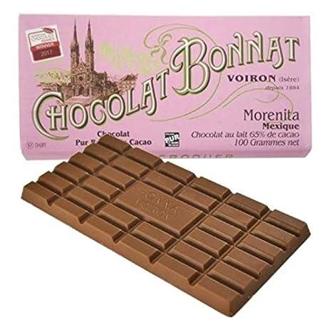 Chocolate Bonnat Morenita, México – Chocolate de leche, 65 ...