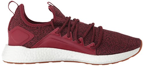 Pomegranate Men's White Nrgy puma Neko PUMA Knit puma Sneaker Black nfB11XZ