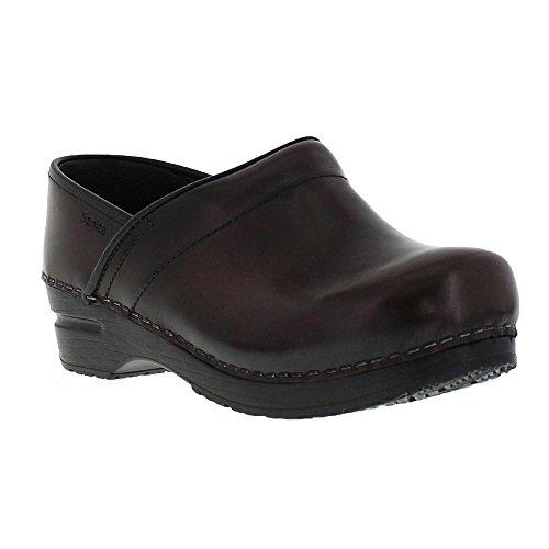 Sanita Cabrio Wide Brown in Brush-Off Leather