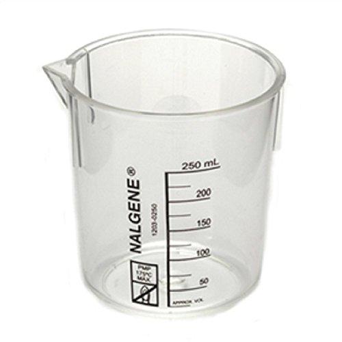 (AliMed General Purpose Polymethylpentene Beaker TPX Clear - 400 mL, Quantity : 1 Each)