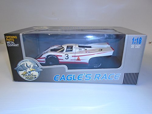 Eagle's Race 1970 Porsche 917K N.3 Daytona Salzburg Austria Die Cast Metal (Eagles Race)